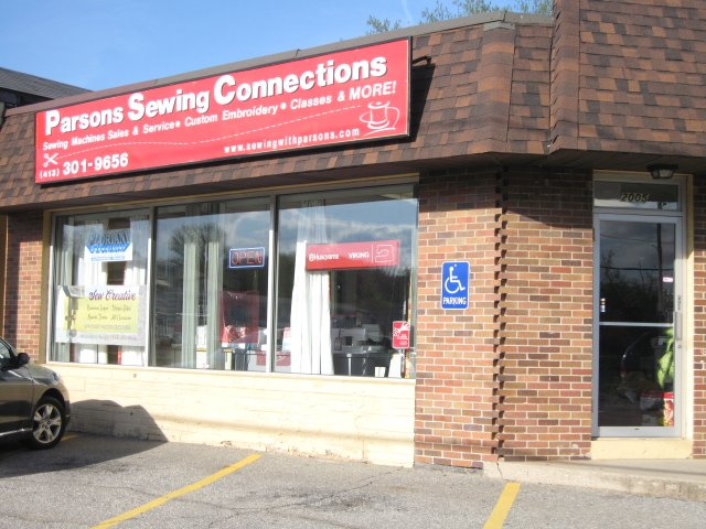 Parsons - sewing, quilting, embroidery, West Springfield, MA